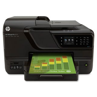 HP Officejet Pro 8000 8600 Inkjet Multifunction Printer - Color - Pla
