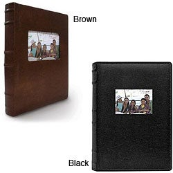 Old Town Bonded Leather Photo Album Holds 300 Photos (Pack of 2)