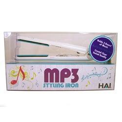 HAI Hot Tunes MP3 Ceramic 1-inch Flat Iron