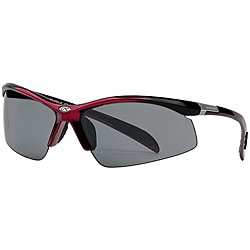Rawlings Men's Black/Red Nylon Sport Sunglasses