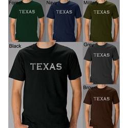 Los Angeles Pop Art Men's Texas T-shirt
