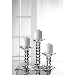 Fifth Avenue Crystal Westport Candle Holders (Set of 3)