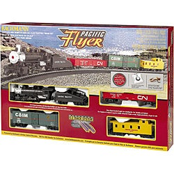 Bachmann Pacific Flyer HO Train Set