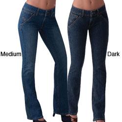 Ilusion Women's Mid-rise Straight-leg Jeans