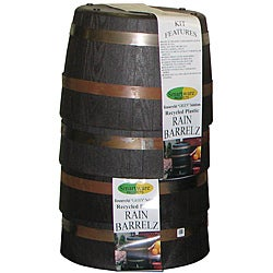 SmartWare 410032 Smart BarrelZ Whiskey Barrel Planter