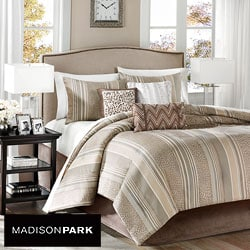 Madison Park Rollins 7-piece King/ Cal King-size Comforter Set