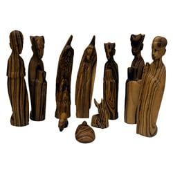 Olive Wood Nativity (Rwanda)