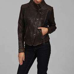 Via Spiga Women's Leather Jacket