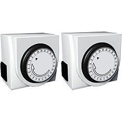 2 Pack-Stanley Time It Duo Indoor Mechanical Timer
