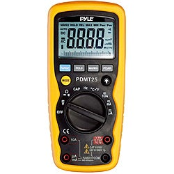 Pyle Digital Multimeter with Voltage/ Capacitance