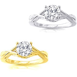 14k Gold 1 1/4 ct TDW Diamond Solitaire Engagement Ring (H-I, I1)