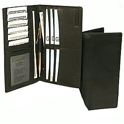Bond Street Men's Breast Pocket Organizer Wallet