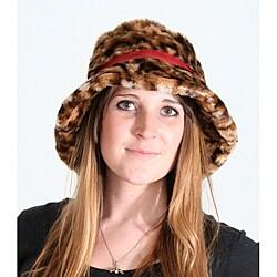 Mario Lorenz Leopard Floppy Hat