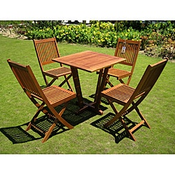 Royal Tahiti 'Cadiz' 5-piece Outdoor Dining Set