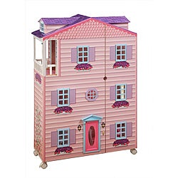 Teamson Kids Doll House- New York Mansion with Furniture