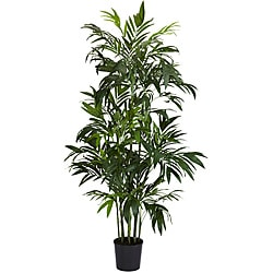 6 ft Bamboo Palm Silk Tree