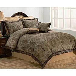 Geneva 8-piece Queen-size Comforter Set