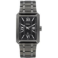 Fossil Men's 'Roman' Plated Stainless Steel Watch