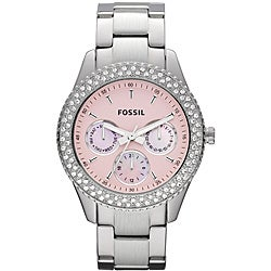 Fossil Women's 'Stella' Stainless Steel Glitz Watch