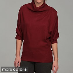 Razzle Dazzle Women&#39;s Turtleneck Dolman Top FINAL SALE