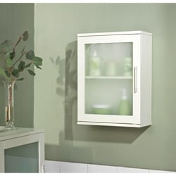 Frosted Pane Wall Cabinet