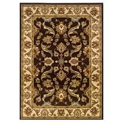 LNR Home Adana Brown/ Cream Oriental Rug (7'9 x 9'9)