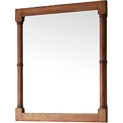 Roble Mirror in Weathered Oak 28in.