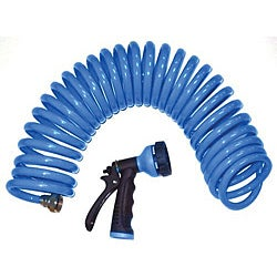 Orbit Coil Hose 25 foot Blue