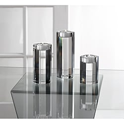 Fifth Avenue Crystal Lisbon Candle Holders (Set of 3)