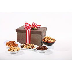 Deluxe Gourmet Chocolate & Nut Sampler