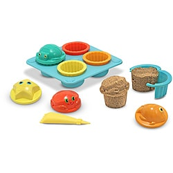 Melissa & Doug Seaside Sidekicks Sand Cupcake Play Set