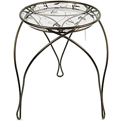 'The Elegance' Plant Stand, Dark Bronze (17