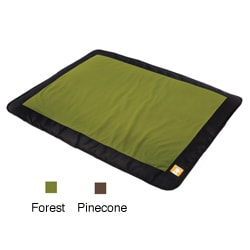 Ruffwear Mt. Bachelor PVC-free Recycled-fleece Thermal-padded Dog Bed