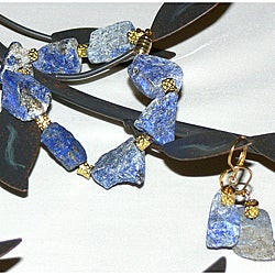 Susen Foster Designs &#39;Lapis Lullaby&#39; Jewelry Set
