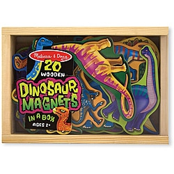 Melissa & Doug Magnetic Wooden Dinosaurs