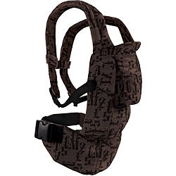 Evenflo Snugli Seated Soft Carrier in Gothic Black