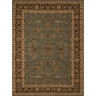 Dorchester Blue/ Brown Rug (5'2 x 7'7)