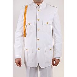Ferrecci Men's 'Cadet Uniform' White Suit