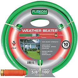 Flexon (0.625' x 100') Weather Beater Garden Hose