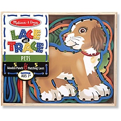 Melissa & Doug Lace and Trace Pets Play Set