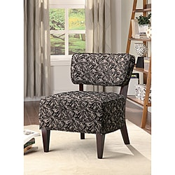 Fabric Accent Dark Starburst Lounge Chair