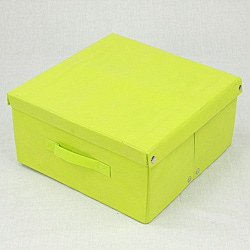 Green Fabric Storage Box