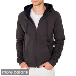 American Apparel Unisex California Fleece Thermal-lined London Hoodie