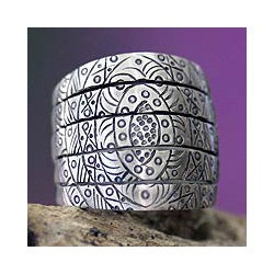 Sterling Silver 'True Honor' Ring (Indonesia)