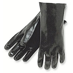 Memphis Glove 12-Inch Economy Dipped PVC Gloves