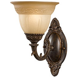 Oxford Venetian Bronze 1-light Wall Sconce