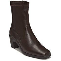 A2 by Aerosoles Women's Brown 'Saw Horse' Ankle Boots