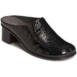 A2 by Aerosoles Women's 'Peppermint' Black Mules