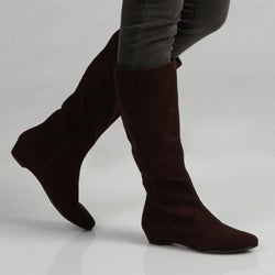 A2 by Aerosoles Women&#39;s &#39;Sota Bread&#39; Brown Knee-high Boots