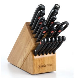 Wusthof Gourmet 18-piece Knife Block Set